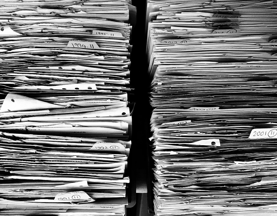 Files, Paper, Office, Paperwork, Stack, Work, Data